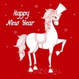 Jahr von Pferd 2 Stockfoto