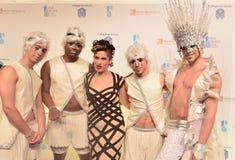 Jahrbuch Cirque du Soleils 'eine Nacht für einen Tropfen' Stockbild