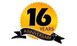 16 Jahre Band-Jahrestags- Lizenzfreie Stockfotos