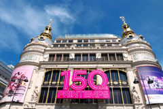 150 Jahre des Au-Printemps Stockfoto