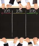 Jahre Konzept Stockbilder