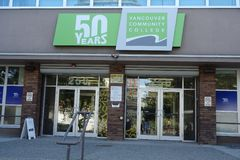 50 Jahre Vancouver-Volkshochschule- lizenzfreie stockfotografie