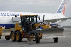 Jahresübersicht der Flughafenausrüstung in Pulkovo, St Petersburg, Russland Lizenzfreie Stockbilder