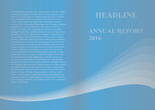 Jahresbericht Stockfoto