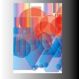 Jahresbericht-Broschüren-Broschüren-Fliegerschablonendesign Lizenzfreies Stockfoto