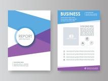 Jahresbericht, Flieger, Broschüre Lizenzfreie Abbildung