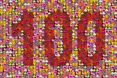 Jahrestag 100 Stockfotografie