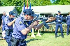 26. Jahrestag der kroatischen bewaffneten Kräfte Lizenzfreies Stockfoto