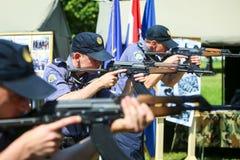 26. Jahrestag der kroatischen bewaffneten Kräfte Stockfoto