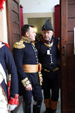 200. Jahrestag der Napoleon-` s Ankunft in Portoferraio, Elba Lizenzfreies Stockfoto
