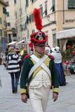 200. Jahrestag der Napoleon-` s Ankunft in Portoferraio, Elba Stockbild