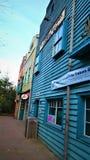 Jahrestag der neuen englischen Stadt von Yukon stockbilder