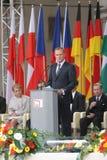 20. Jahrestag des Einsturzes des Kommunismus in Mitteleuropa Stockbild