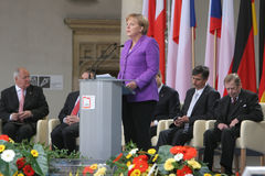 20. Jahrestag des Einsturzes des Kommunismus in Mitteleuropa Lizenzfreies Stockfoto