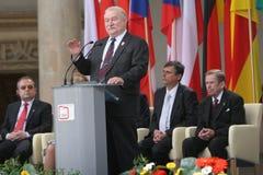 20. Jahrestag des Einsturzes des Kommunismus in Mitteleuropa Lizenzfreie Stockfotografie
