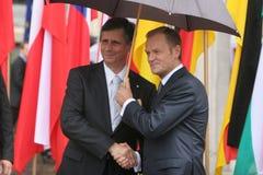 20. Jahrestag des Einsturzes des Kommunismus in Mitteleuropa Lizenzfreie Stockbilder