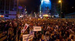 20. Jahrestag des Sivas-Massakers Lizenzfreies Stockfoto