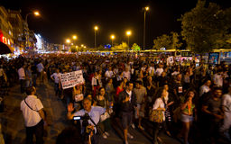 20. Jahrestag des Sivas-Massakers Stockfotos