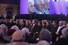 70. Jahrestag von Auschwitz-Befreiung Stockfoto