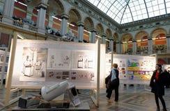 140. Jahrestag von St- Petersburgkunst und von Industrie-Akademie Lizenzfreie Stockbilder