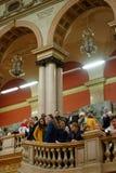 140. Jahrestag von St- Petersburgkunst und von Industrie-Akademie Lizenzfreie Stockfotos
