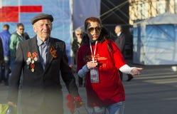 70. Jahrestag von Victory Day in Russland Stockbild