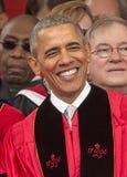 250. Jahrestags-Abschlussfeier Barack Obama Attendss an Rutgers-Universität Lizenzfreies Stockbild