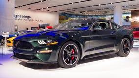 2019 Jahrestags-Ausgabe Ford Mustang Bullitts 50, NAIAS Lizenzfreie Stockfotografie