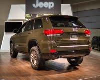 Jahrestags-Ausgabe Jeep Grand Cherokees 75. Lizenzfreies Stockfoto