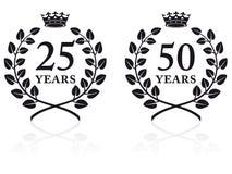 Jahrestags-Dichtungen 2 Lizenzfreies Stockfoto