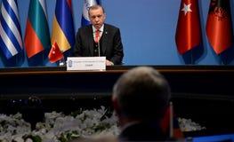 25. Jahrestags-Gipfel der wirtschaftlichen Zusammenarbeit BSEC Schwarzen Meers Lizenzfreie Stockfotografie
