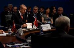 25. Jahrestags-Gipfel der wirtschaftlichen Zusammenarbeit BSEC Schwarzen Meers Stockbilder