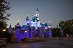 Jahrestags-Schloss Disneylands 60. Lizenzfreie Stockfotografie