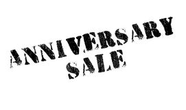 Jahrestags-Verkaufsstempel Stockfoto