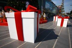 Jahrestagsgeschenkgeschenkgeschenkideenweihnachtsgeschenke speci Stockbild