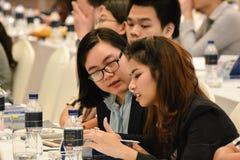 Jahresversammlung der thailändischen Gesellschaft für Biotechnologie Lizenzfreie Stockfotos
