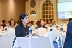 Jahresversammlung der thailändischen Gesellschaft für Biotechnologie Lizenzfreies Stockfoto