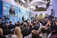 12. Jahresversammlung europäischer Strategie Jaltas (JA) Lizenzfreie Stockfotos
