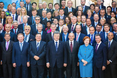 12. Jahresversammlung europäischer Strategie Jaltas (JA) Lizenzfreie Stockfotografie