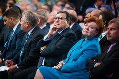 12. Jahresversammlung europäischer Strategie Jaltas (JA) Stockbilder