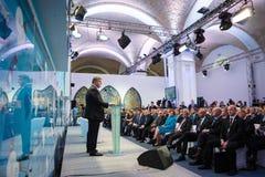 12. Jahresversammlung europäischer Strategie Jaltas (JA) Lizenzfreie Stockbilder