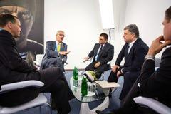 12. Jahresversammlung europäischer Strategie Jaltas (JA) Stockfotografie