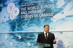 13. Jahresversammlung europäischer Strategie Jaltas (JA) Lizenzfreie Stockbilder