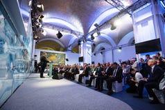 13. Jahresversammlung europäischer Strategie Jaltas (JA) Stockfoto