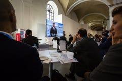 13. Jahresversammlung europäischer Strategie Jaltas (JA) Stockfotografie