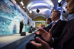 13. Jahresversammlung europäischer Strategie Jaltas (JA) Lizenzfreie Stockfotografie