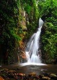 Jahreszeit des Wasserfalles im Frühjahr Lizenzfreie Stockfotografie