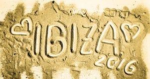 Jahreszeit Ibiza 2016 stockfotografie
