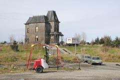 Jahreszeit vier Bates Motel stockbild