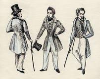 Jahrhundert der fantastischen Männer 18 stock abbildung